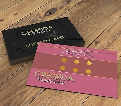 Personalised Loyalty Cards | Beauty Design for Salon, Spa, Hairdressing, Nails