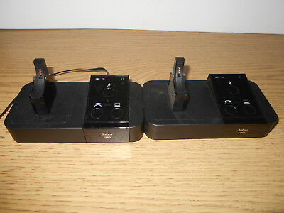 8dd22a52fb8 Lot of 2 Jabra Pro 9400BS Headset Base with Chargers + 9450 Setup Wizard CS
