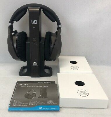 Sennheiser RS 185 Headband Wireless Headphones - Black