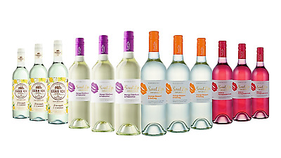 Fruity Taste Mixed Wine Pack 12x750ml - FAST & FREE SHIPPING