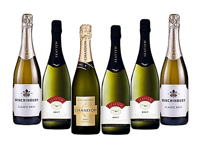 AU Mixed Brut Wine Pack 5-Star Winery 6x750mL - FAST & FREE SHIPPING