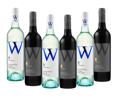 Mixed Warburn Wine Pack 5-Star Winery 6x750mL - FREE SHIPPING