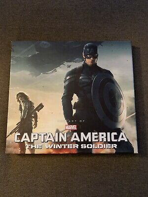 The Art Of Captain America The Winter Soldier Hardcover Book