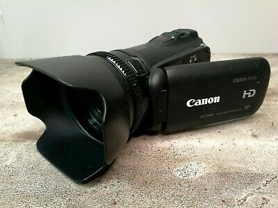 CANON LEGRIA HF G10 HD Camcorder 1080p with Batteries + Instructions Remote Hood
