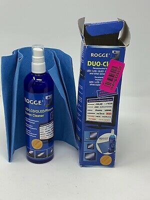 ROGGE DUO-Clean Screen Cleaner - Professional display screen cleaning kit =
