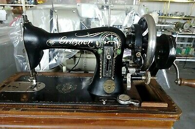 VERY RARE GRITZNER SEWING MACHINE VINTAGE 1900s  WORKING CONDITION