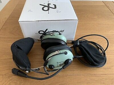 David Clark Aviation Headset H10-13.4 Plus Bag And Ear Covers