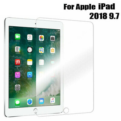 """Tempered Glass Film Screen Protector For New Apple iPad 6th Generation 9.7"""" 2018"""