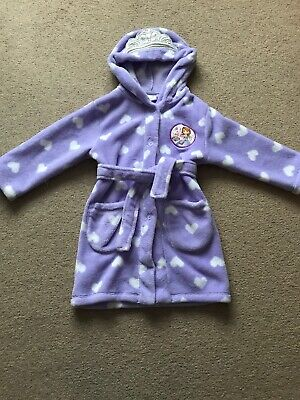 Disney Sofia The First Dressing Gown Aged 2-3 Years