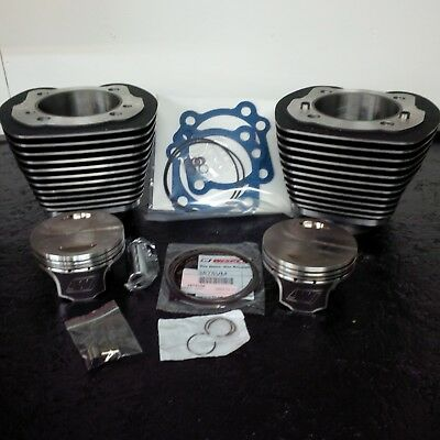A PAIR OF NEW 95 cu. in. BIG BORE BARRELS & PISTONS FOR TC-88  HARLEY DAVIDSON