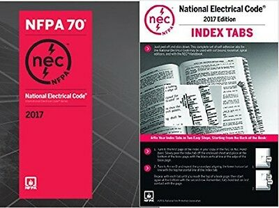 2017 National Electrical Code (NEC) Paperback (Softbound) & Index Tabs - NFPA 70