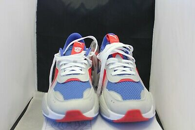 1472408be666 PUMA RS-X TRANSFORMERS Pack Optimus Prime Blue Red White 370701-02 ...