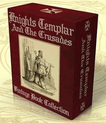 KNIGHTS TEMPLAR & THE CRUSADES 125 Books + 366 Images on DVD Knights of Malta