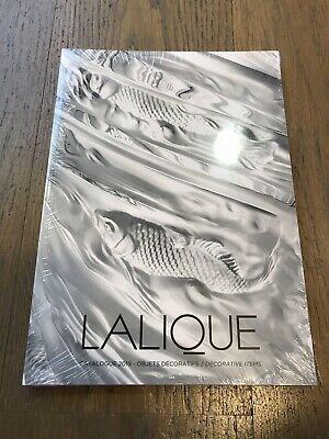 Lalique Decorative Items Catalogue 2019 New And Sealed