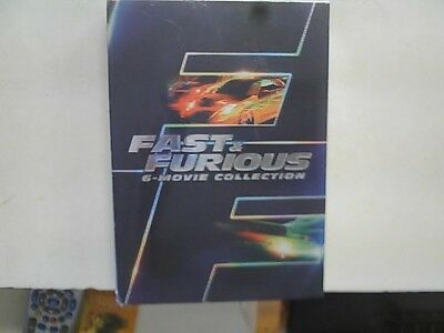 Fast & Furious: 6-Movie Collection (DVD, 2014) New