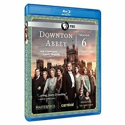 Downtown Abbey Season 6 on Blu-ray Disc