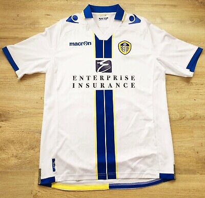 2013-14 Leeds United FC Short Sleeve Home shirt - Size L (Adults)