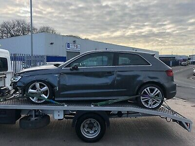 Audi A3 1.4 Tfsi S Line S Tronic Damaged Repairable Salvage * 100% Unrecorded *