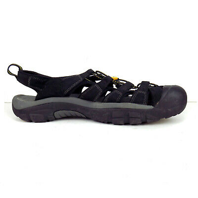 b7d503558e27 KEEN FISHERMAN SANDALS Mens Size 16 Black Waterproof -  34.99