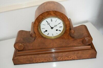 antique double fusee bracket clock on a gong