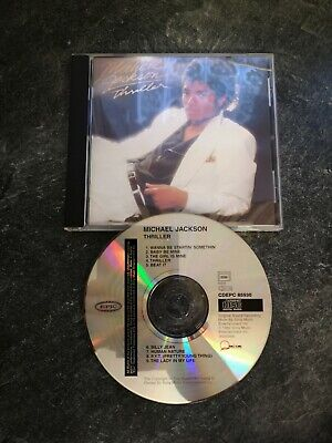 Michael Jackson thriller CD album ex