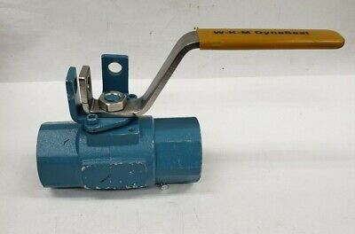 "WKM Dynaseal 1R-B16.34 310 Series 1"" Floating Ball Valve B136-CS-43-CS 3000PSI"