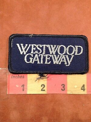 Los Angeles CA - Real Estate Company WESTWOOD GATEWAY Patch - Advertising 76X1