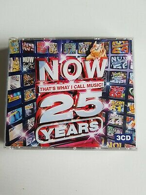 Various Artists - Now That's What I Call Music 25 Years (3 x CD 2008)