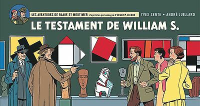 Blake Et Mortimer *le Testament De William S. *format A L'italienne *tl 6500 Ex