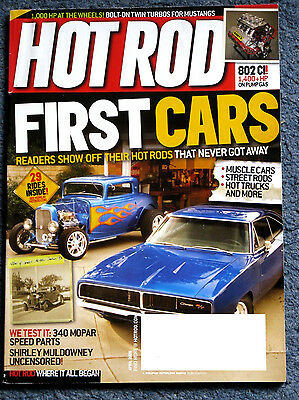 Hot Rod Magazine April 2009 Toyota Camaro Shirley Muldowney First Cars