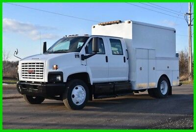 2003 GMC 6500 Crew Cab Walk In Service Utility Truck 45k Miles - Low Reserve!