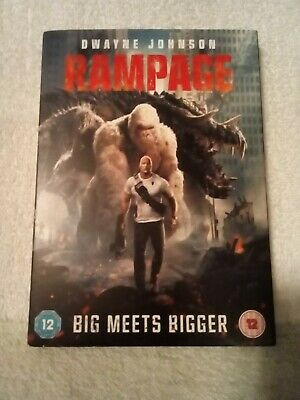 Rampage dvd 2018 - Watched Once
