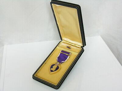 WWII American Boxed Purple Heart Medal