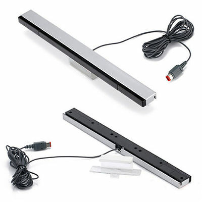 Wired IR Remote Ray Sensor Bar Infrared Inductor for Nintendo Wii Controller BL