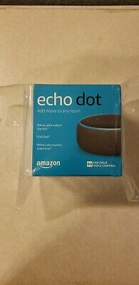 Amazon Echo Dot (3rd Generation) Smart Assistant - Charcoal Fabric