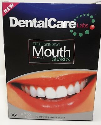 Dental Care Labs Teeth Grinding Mouth Guards For Adults. New...FAST SHIPPING