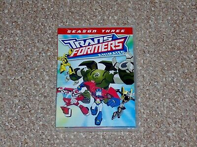 Transformers Animated: Season Three DVD 2014 2-Disc Set Brand New Shout Factory