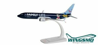 Herpa Wings Family Life Hotels Jetairfly Boeing 737-800 611145 Snap-Fit