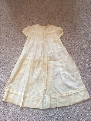 Baby Antique Christening Gown