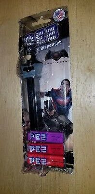 Pez Candy Dispenser Batman V Vs Superman Dawn Of Justice Sealed DC Comics New