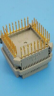PLCC TEST CLIP, 68PIN, 17X17 PLCC, Prototype, Quad Clip, POMONA, 5401, Gold Pin