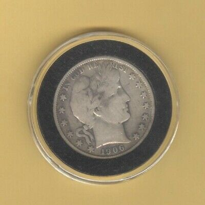1906-S BARBER HALF DOLLAR ( San Francisco Minted Coin)