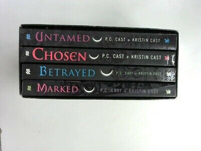 House of Night Boxed Set: Marked / Betrayed / Chosen / Untamed Cast, P. C. and K