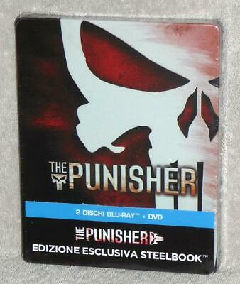 New Blu-Ray DVD SteelBook THE PUNISHER, Limited Release, OOP, Free Shipping