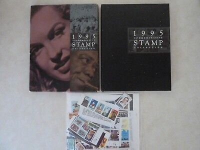 1995 Usps Commemorative Stamp Yearbook W/protective Cover & Sealed Stamps