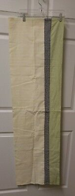 db05f44dd84b1 Wendy Bellissimo Honey Pot Bee Country Window Valance White Green Yellow  Black