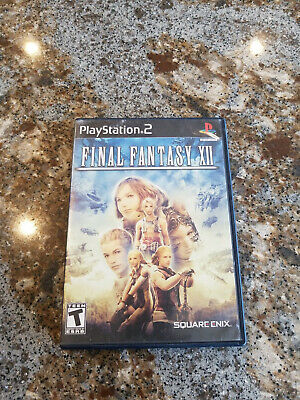 Final Fantasy XII  -- Sony PlayStation 2 PS2 -- C+ CONDITION