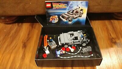 LEGO CUUSOO Back to the Future The DeLorean Time Machine #21103 Retired