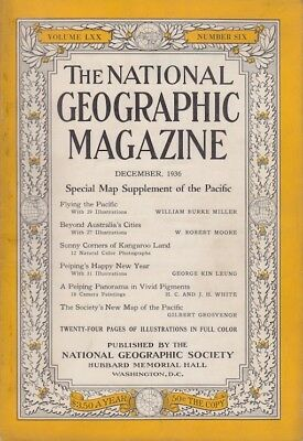 ANTIQUE PACIFIC OCEAN MAP National Geographic December 1936 ... on tahiti map pacific, garbage island pacific, war in pacific, world war ii pacific, world map pacific, silestone pacific,