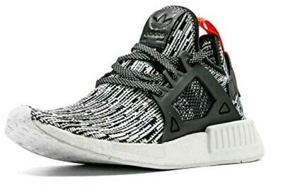 613929dfe ADIDAS NMD XR1 PK Glitch Camo White Boost Black Grey Primeknit ...